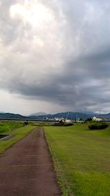 20180814速歩途中で望んだ会津盆地の山々