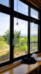 20180815近くの温泉施設から望む会津磐梯山