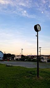 20180823速歩途中の公園から望んだ東南の空