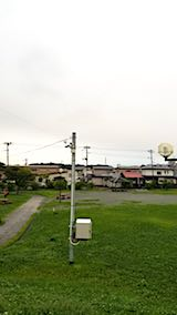 20180910速歩途中の公園から望む南の空