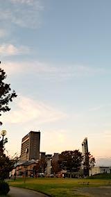 20181013速歩途中の高台から望んだ北の空