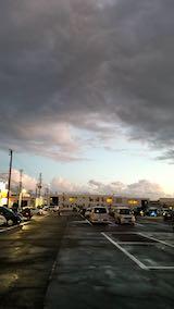 20181014外の様子夕方一雨後