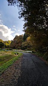 20181102山へ向かう途中の様子峠道