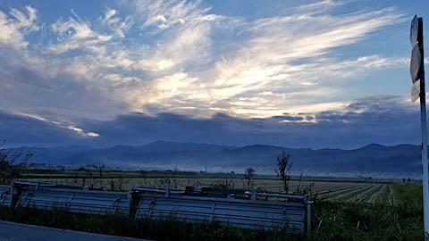 20181104新鶴地区から望んだ明神ケ岳2