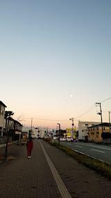 20181120速歩からの帰り道で望んだ東の空