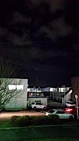 20181205速歩途中の公園から望んだ東の空