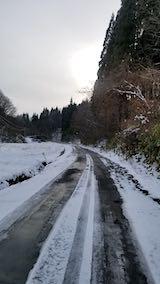 20181211山へ向かう途中の峠道