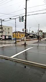 20181212外の様子昼過ぎ雨が降り出す