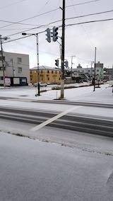 20181213外の様子朝雪が降る