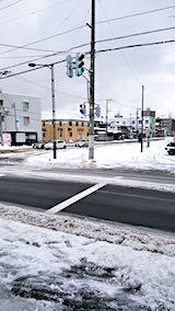 20181214外の様子昼過ぎ雪寄せ後
