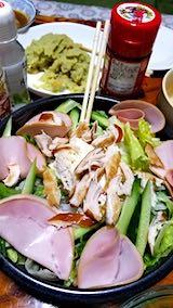 20190102晩ご飯野菜サラダ