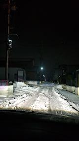 20190105秋田市の路地の様子