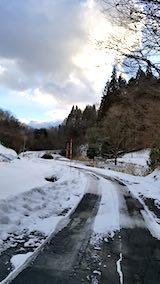 20190109山へ向かう途中の峠道