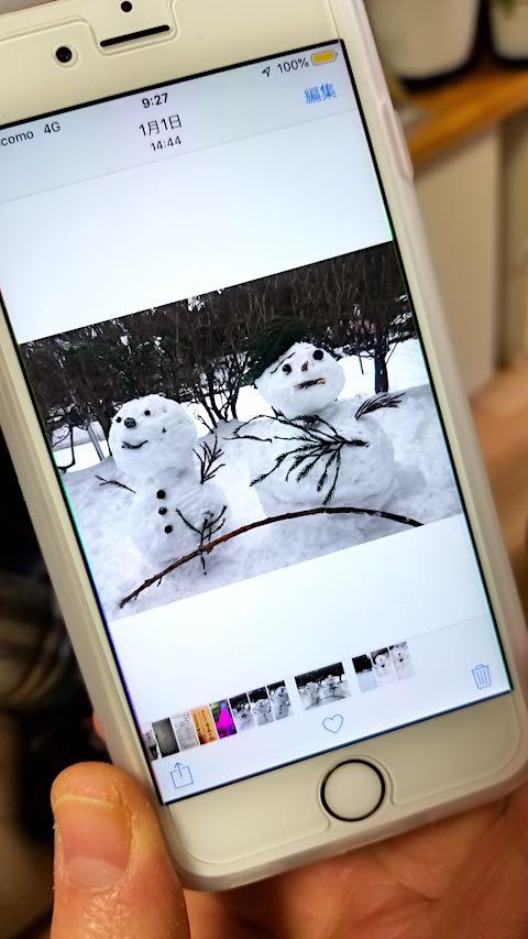 20190112雪だるま