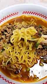 20190112お昼ご飯タンタン麺