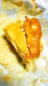 20190112デザート手作りチーズケーキ