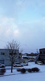 20190118速歩途中の公園高台から望んだ東の空