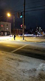 20190118外の様子夕方歩道や道路2