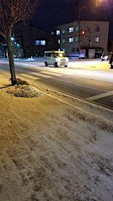 20190118外の様子夕方歩道や道路1