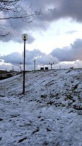 20190119速歩途中の公園から望んだ高台の風景1