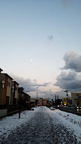 20190119速歩からの帰り道で望んだ東の空