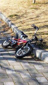 20190310速歩途中の公園で見つけた子供用自転車