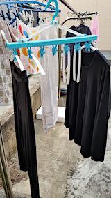 20190310洗濯物を外へ干す3