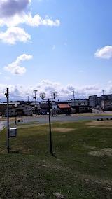 20190314速歩途中の公園高台から望んだ南の空