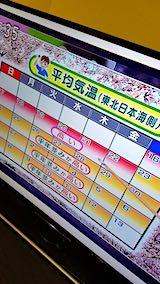20190315NHKテレビ桜の開花予想2