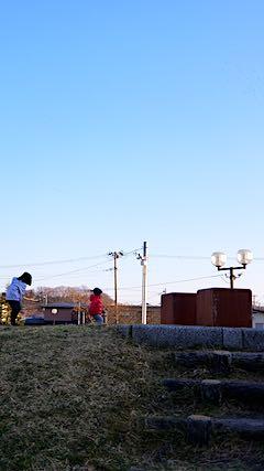 20190318速歩途中の公園高台の様子