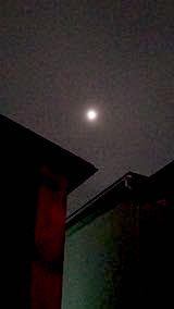 20190320夜のはじめ頃お月さま