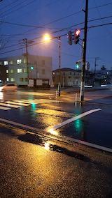 20190330外の様子夕方雨降り