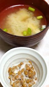 20190402晩ご飯酢納豆