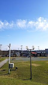 20190407速歩途中の公園高台から望んだ南の空