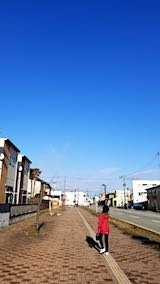 20190407速歩からの帰り道で望んだ東の空