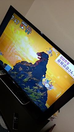 20190827NHKテレビ藤城氏影絵