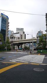 20191014外の様子東京朝霧雨