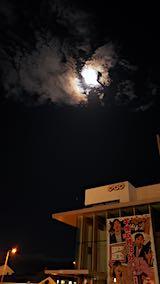 20191014外の様子夜遅くお月さま