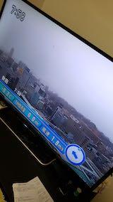 20191129NHKテレビ外の様子朝雪降り