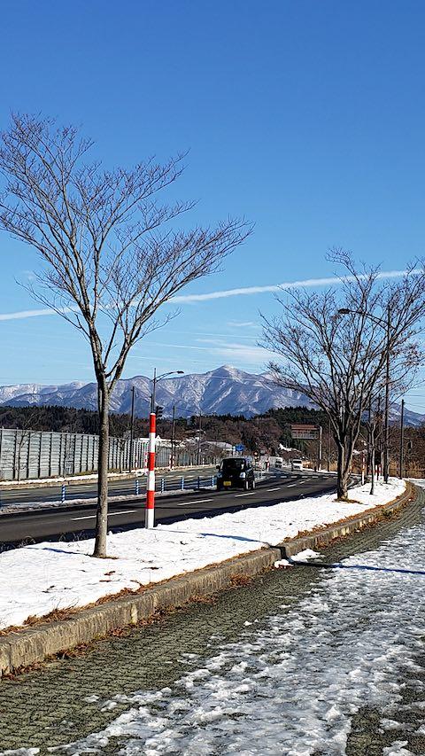 20191209外の様子昼過ぎ太平山1