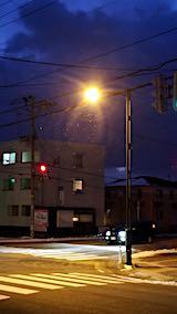20200105外の様子夕方小雪