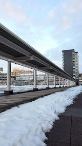 20200214速歩途中のJR秋田駅東口へ向かう通路1