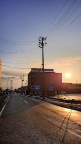 20200214速歩途中のノーザンゲートスクエアより望んだ東の空
