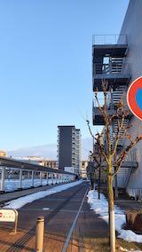 20200214速歩途中のノーザンゲートスクエアより望んだ北の空