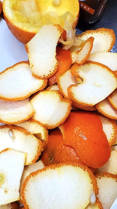 20200219橙のマーマレード作り1
