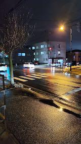 20200219外の様子夕方雨降り