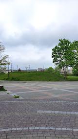 20200518速歩へ向かった公園内と南西の空