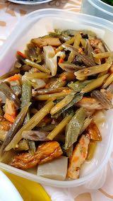 20200518お昼ご飯山菜の煮つけ