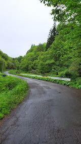 20200521山へ向かう途中の峠道