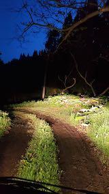 20200522ラベンダーの畑へと向かう急な坂道を下る前